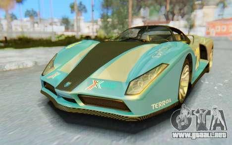 GTA 5 Grotti Cheetah IVF para vista inferior GTA San Andreas