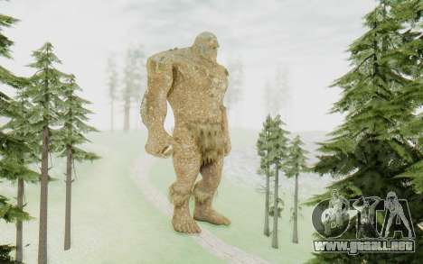 Hyperion para GTA San Andreas segunda pantalla