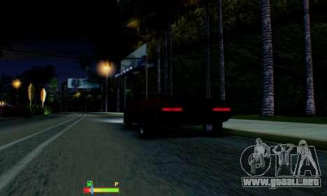 Chevrolet 369 Camaro SS para vista inferior GTA San Andreas