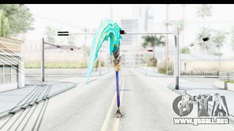 Orochi Weapon para GTA San Andreas segunda pantalla