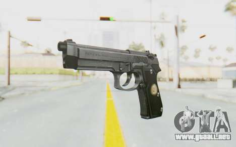 Tariq Iraqi Pistol Back v1 Silver para GTA San Andreas