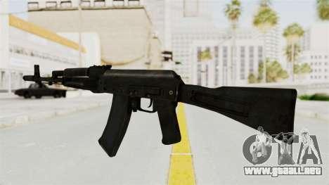 AK-74M v1 para GTA San Andreas segunda pantalla