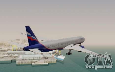 Boeing 777-300ER Aeroflot para la visión correcta GTA San Andreas
