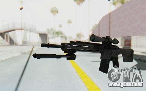 CoD: MW3 - Remington RSASS para GTA San Andreas segunda pantalla