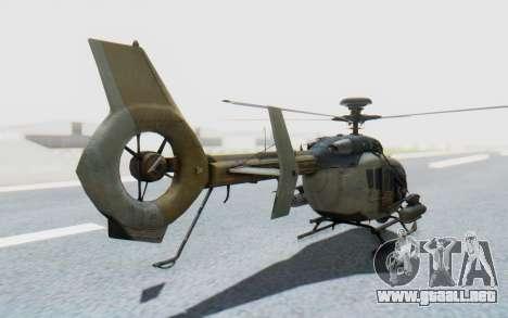 CoD Ghosts - EC-635 para GTA San Andreas left