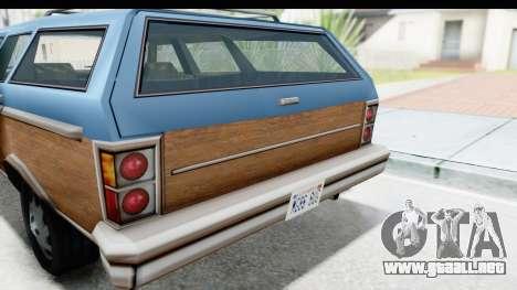 Pontiac Bonneville Safari from Bully para GTA San Andreas vista hacia atrás