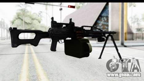 Kalashnikov PK (PKM) Iron Sights para GTA San Andreas tercera pantalla