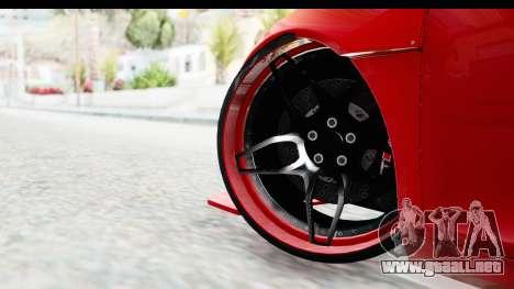 Audi R8 5.2 V10 Plus LB Walk para GTA San Andreas vista posterior izquierda