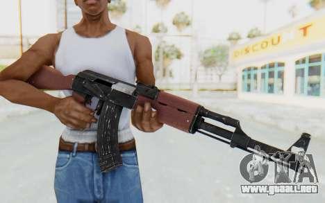 Assault AK-47 para GTA San Andreas tercera pantalla