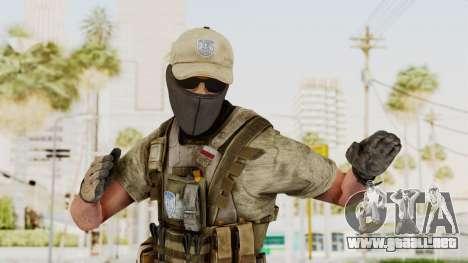 MOH Warfighter Grom Specops para GTA San Andreas