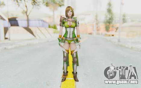 Dynasty Warriors 8 - Bao Sanniang para GTA San Andreas segunda pantalla