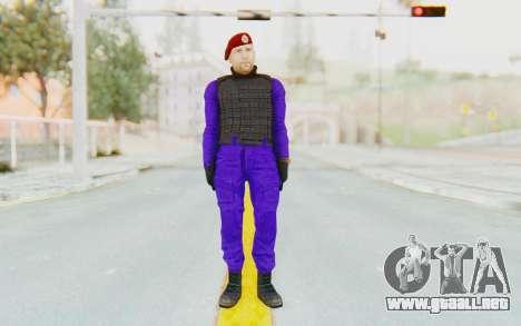 Bahrain Officer para GTA San Andreas segunda pantalla