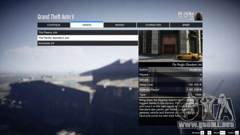 GTA 5 Heist Project 0.4.32.678 noveno captura de pantalla