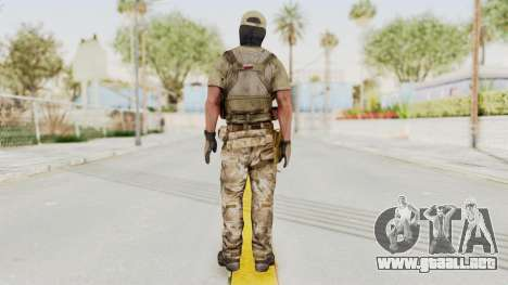 MOH Warfighter Grom Specops para GTA San Andreas tercera pantalla