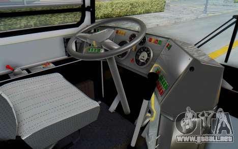 Ikarus 260 Istanbul para visión interna GTA San Andreas