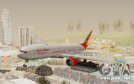 Boeing 777-300ER India Air para GTA San Andreas