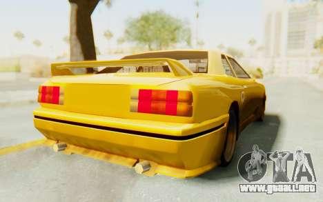 Elegy E30 para la visión correcta GTA San Andreas
