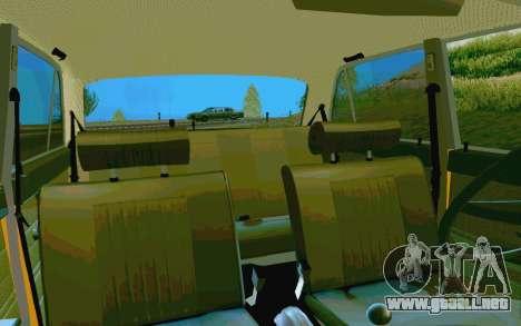 HUNTER-2106 GAI v2.0 para la vista superior GTA San Andreas
