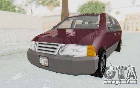 GTA 3 Blista para la visión correcta GTA San Andreas