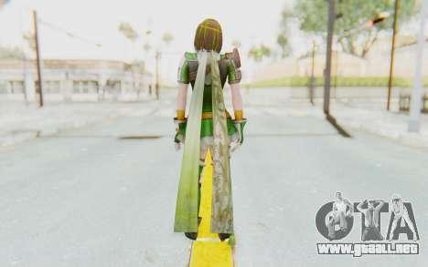Dynasty Warriors 8 - Bao Sanniang para GTA San Andreas tercera pantalla