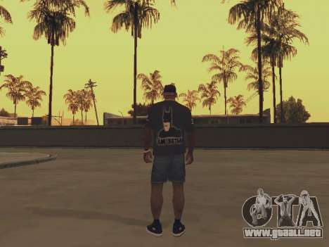 T-shirt soy BATMAN para GTA San Andreas