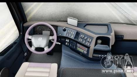 Volvo FMX Euro 5 v2.0.1 para visión interna GTA San Andreas