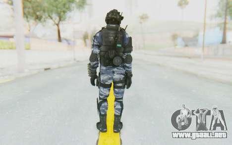 Federation Elite Shotgun Urban-Navy para GTA San Andreas tercera pantalla