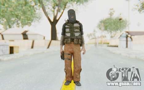 CoD MW3 Suicide Bomber para GTA San Andreas segunda pantalla