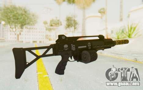 GTA 5 DLC Finance and Felony - Special Carbine para GTA San Andreas segunda pantalla