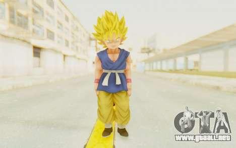 Dragon Ball Xenoverse Goku Kid GT SSJ para GTA San Andreas segunda pantalla