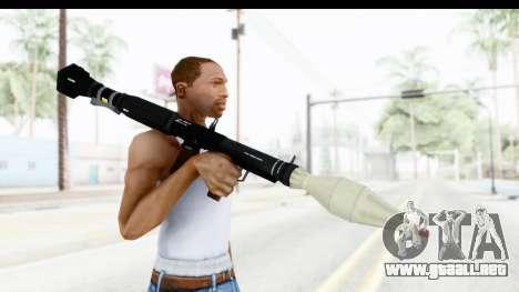 GTA 5 Shrewsbury Rocketlauncher para GTA San Andreas tercera pantalla