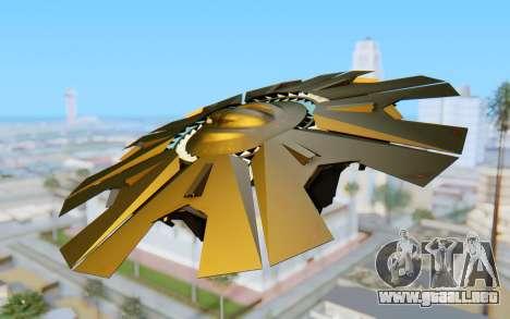 GTA 5 UFO B-2 Style para GTA San Andreas left