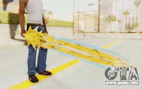 Blade of Olympus para GTA San Andreas