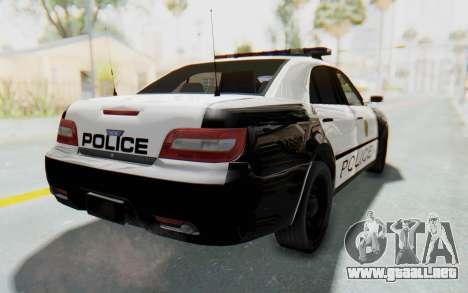 ASYM Desanne XT Pursuit v3 para GTA San Andreas left