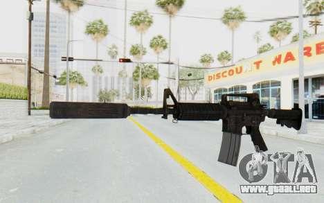 Assault M4A1 Silenced para GTA San Andreas