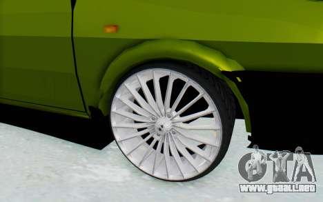 Dacia 1300 4x4 para GTA San Andreas vista hacia atrás
