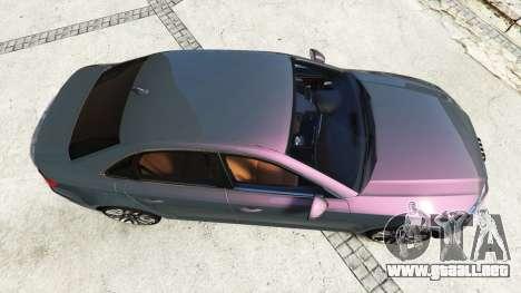 GTA 5 Audi A4 2017 [add-on] v1.1 vista trasera