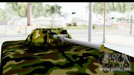 UAZ-469 de la policía Militar de Serbia para GTA San Andreas vista hacia atrás