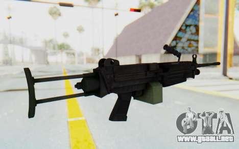 FN Minimi M249 Para para GTA San Andreas tercera pantalla