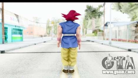 Dragon Ball Xenoverse Goku GT Adult SSG para GTA San Andreas tercera pantalla