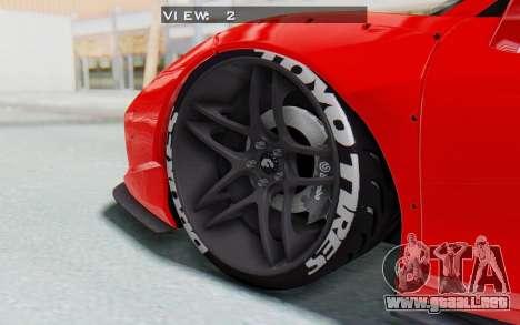 Ferrari 458 Liberty Walk para la vista superior GTA San Andreas