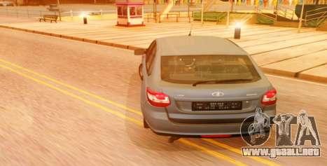 Lada Granta Liftback Beta v1 para GTA San Andreas left