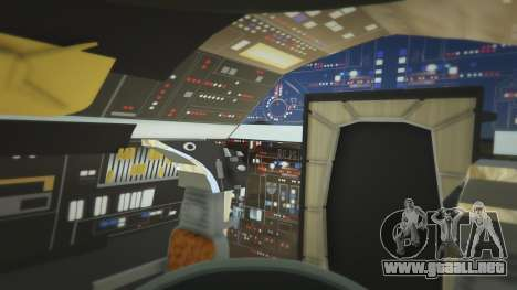 GTA 5 Star Wars Millenium Falcon 5.0 séptima captura de pantalla