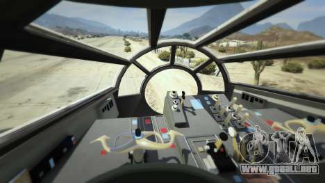 GTA 5 Star Wars Millenium Falcon 5.0 sexta captura de pantalla