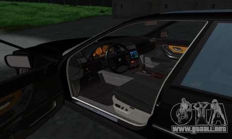 BMW 740i E38 para vista lateral GTA San Andreas