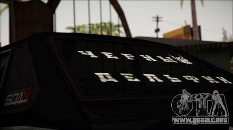 2109 Vagabundo para GTA San Andreas vista hacia atrás