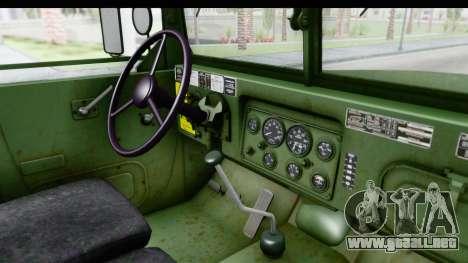 AM General M35A2 para visión interna GTA San Andreas