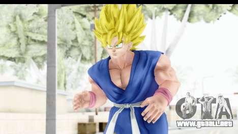 Dragon Ball Xenoverse Goku GT Adult SSJ1 para GTA San Andreas