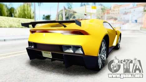 GTA 5 Pegassi Reaper v2 IVF para la visión correcta GTA San Andreas