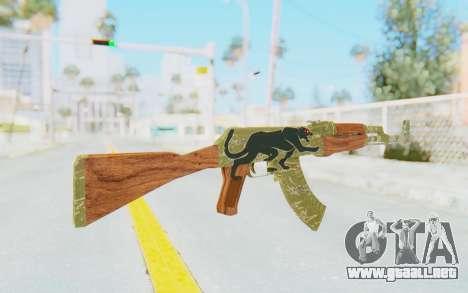 CS:GO - AK-47 Jaguar para GTA San Andreas segunda pantalla